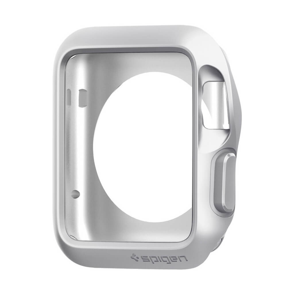 Spigen® Slim Armor™ SGP11505 Apple Watch Series 1 (42mm) Case - Silver