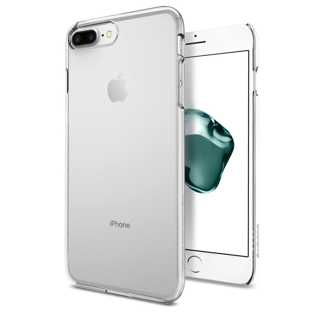 Spigen® Thin Fit™ 043CS20935 iPhone 7 Plus Case - Crystal Clear