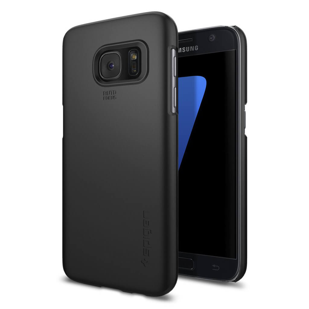 Spigen® Thin Fit™ 555CS20003 Samsung Galaxy S7 Case - Black