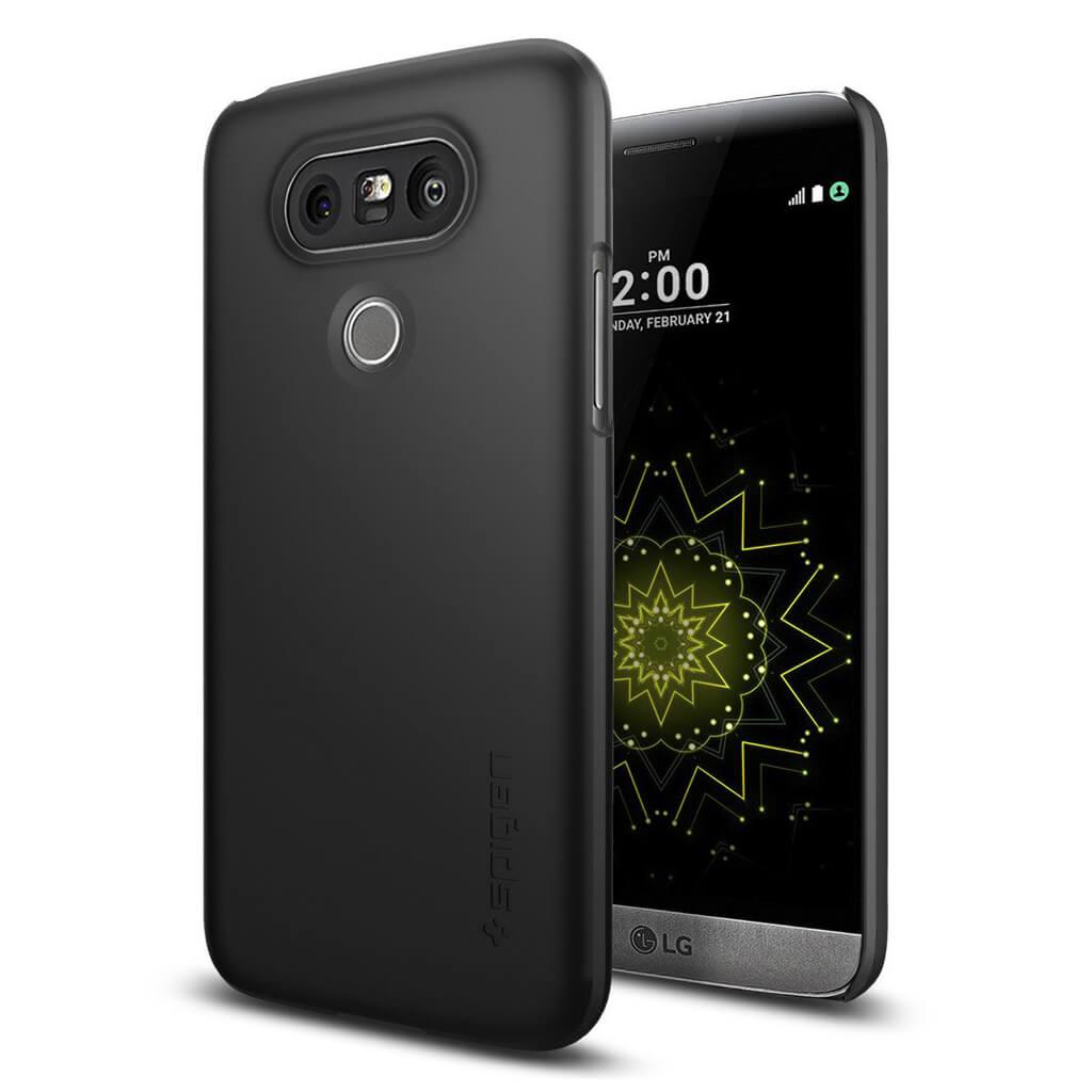 Spigen® Thin Fit™ A18CS20126 LG G5 Case - Black