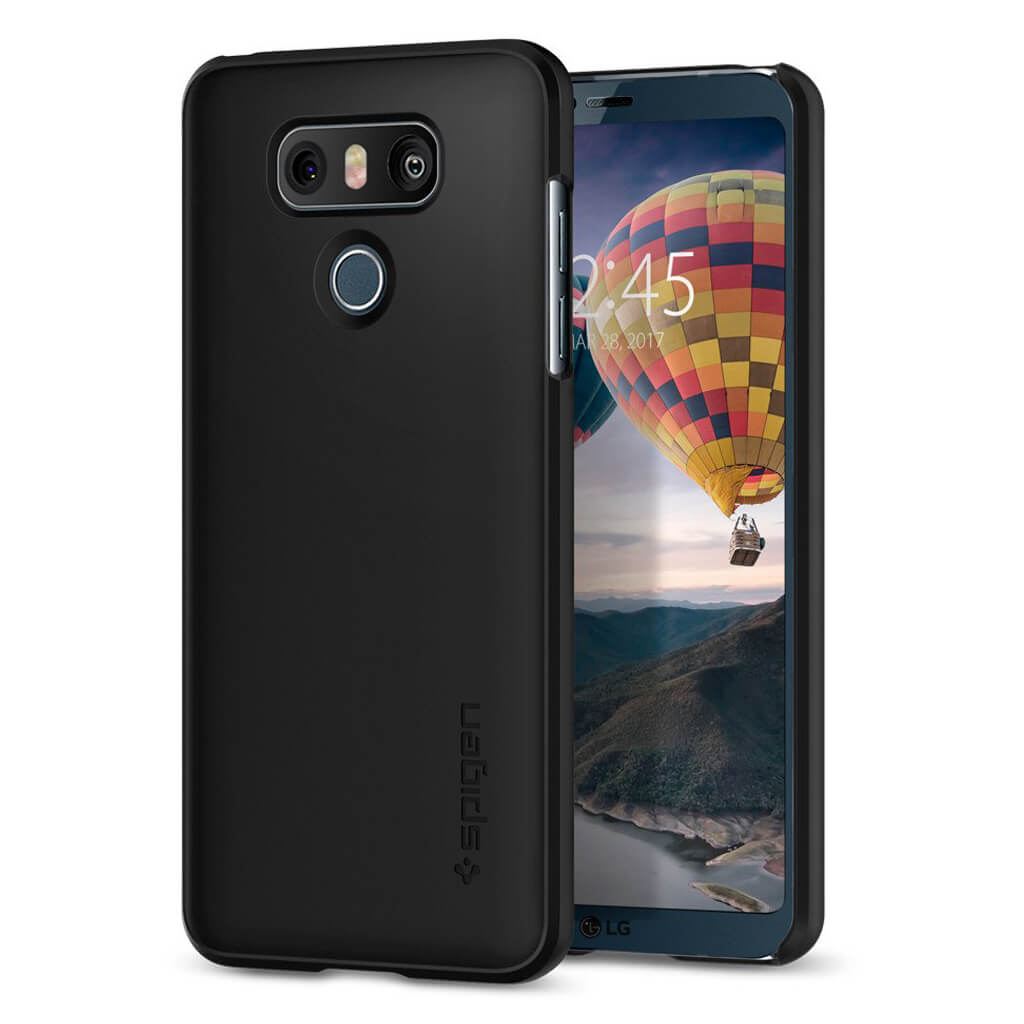 Spigen® Thin Fit™ A21CS21231 LG G6 Case - Black