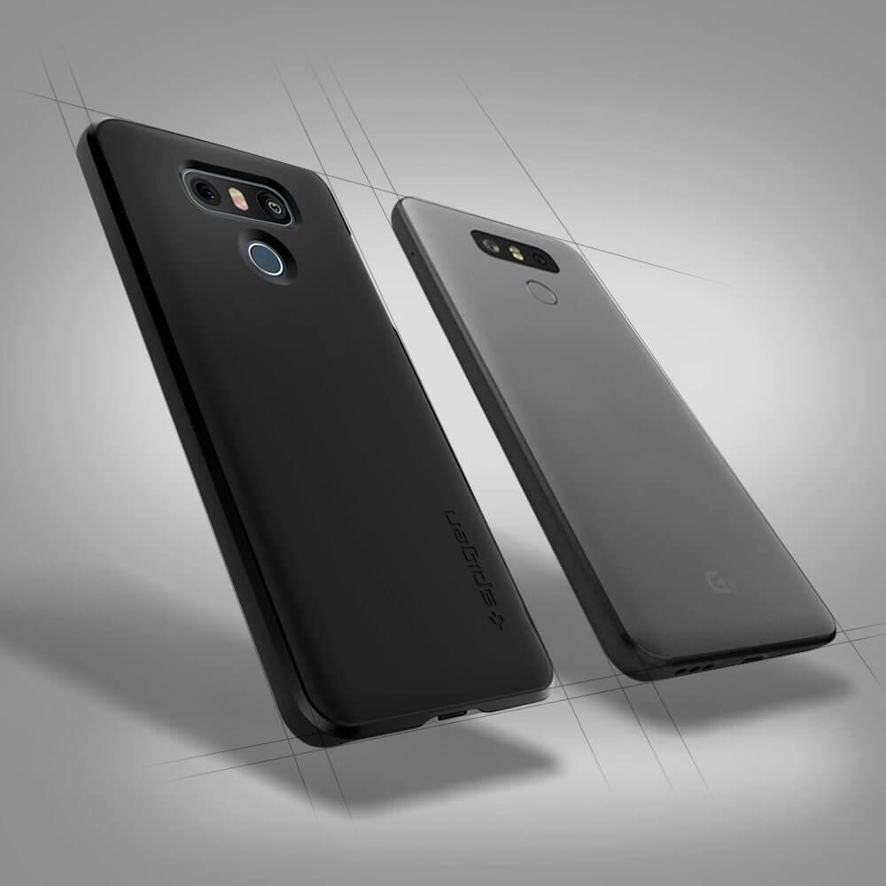 spigen thin fit lg g6 case black