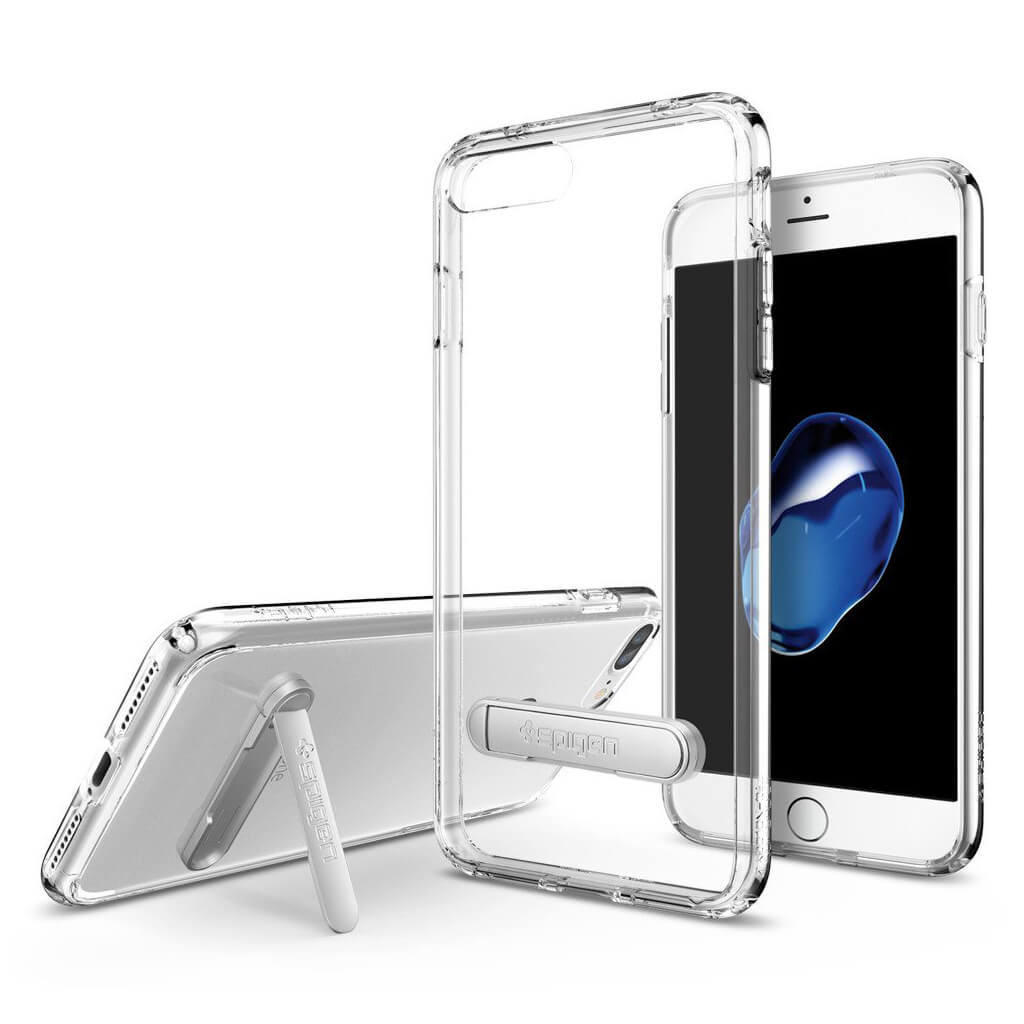Spigen® Ultra Hybrid S™ 043CS20754 iPhone 7 Plus Case - Crystal Clear