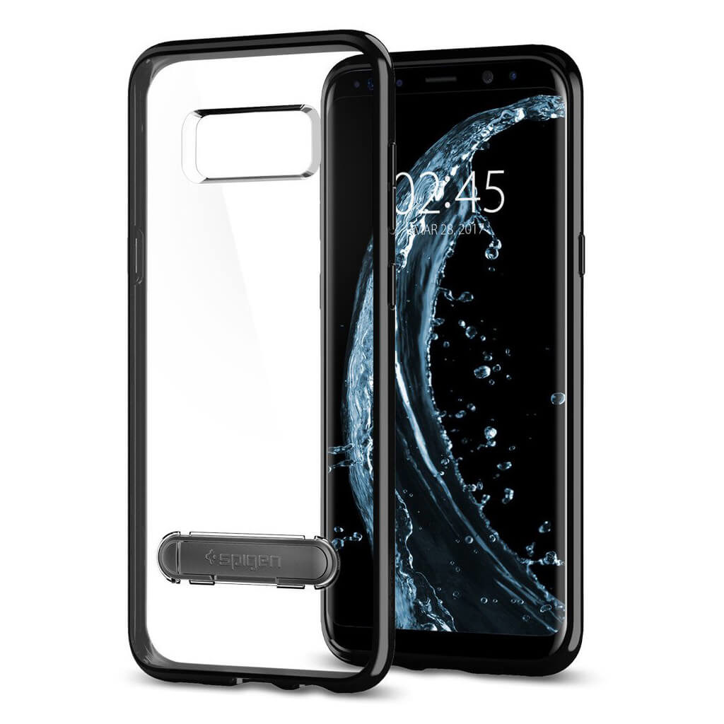 Spigen® Ultra Hybrid S™ 565CS21633 Samsung Galaxy S8 Case - Midnight Black