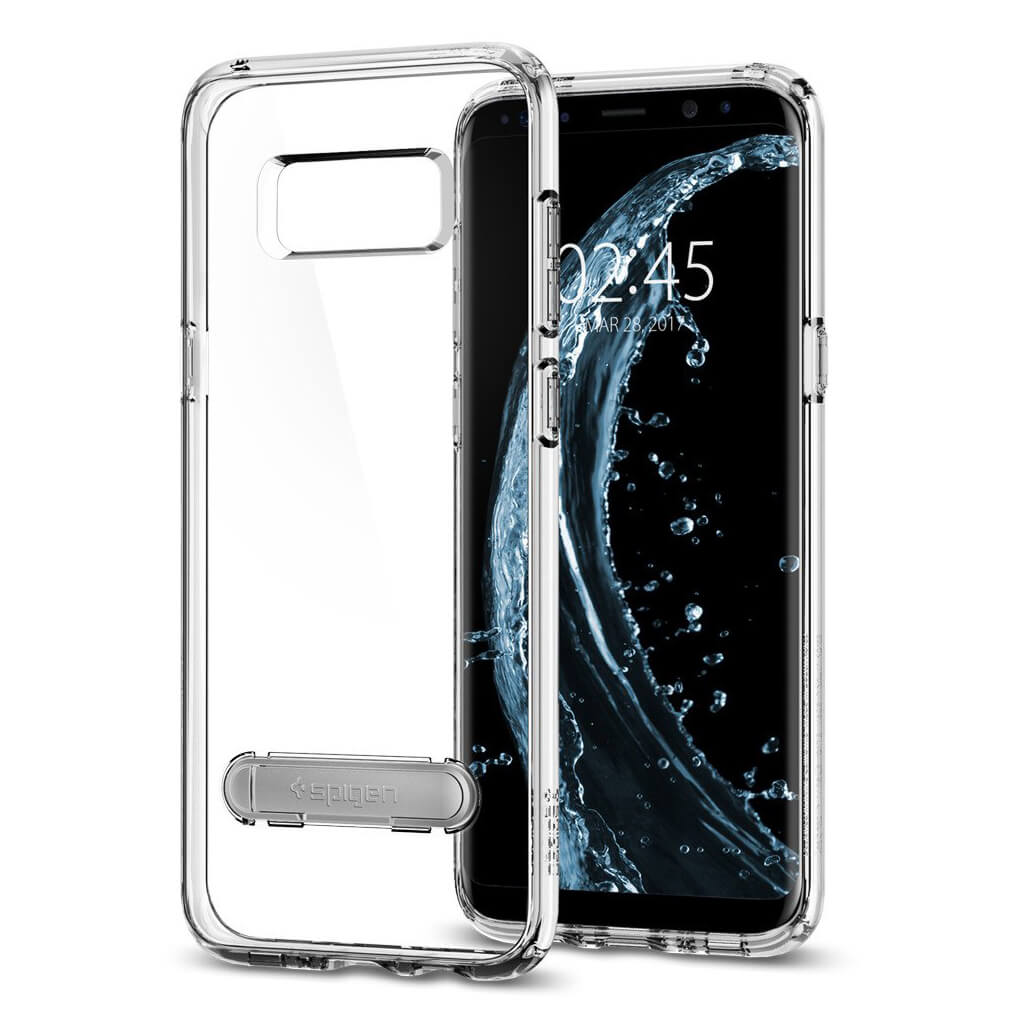 Spigen® Ultra Hybrid S™ 571CS21686 Samsung Galaxy S8+ Plus Case - Crystal Clear