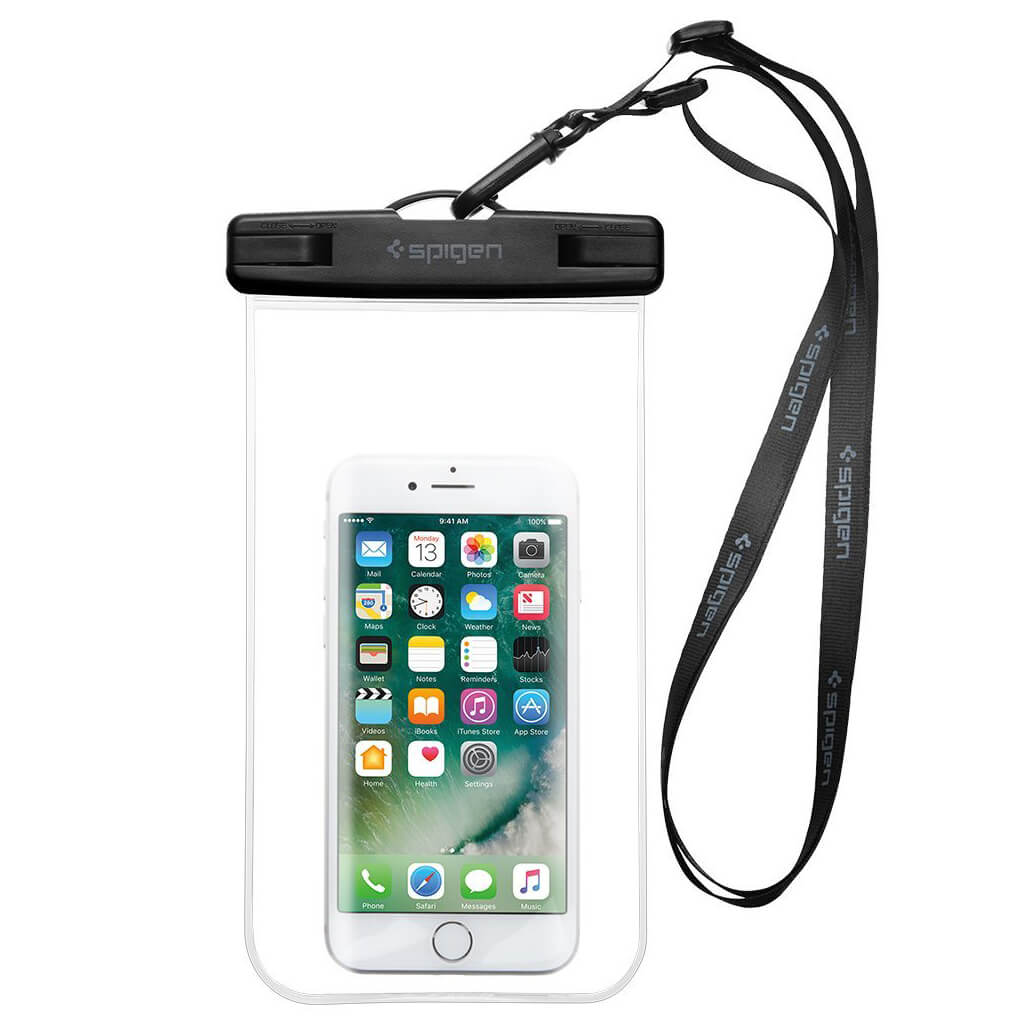 Spigen® Velo™ A600 000EM20923 IPX8 Certified Universal Waterproof Case - Crystal Clear