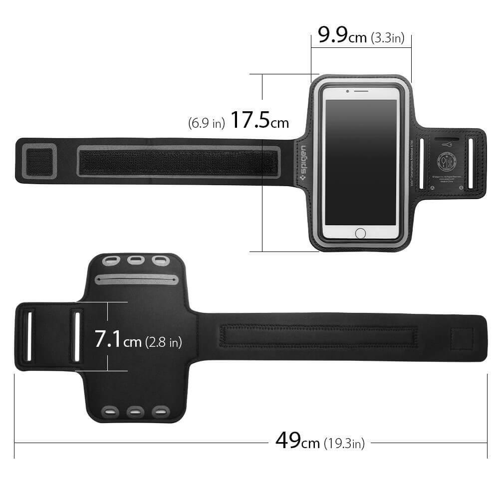Spigen® Velo™ A700 000EM21193 Sports Armband - Black
