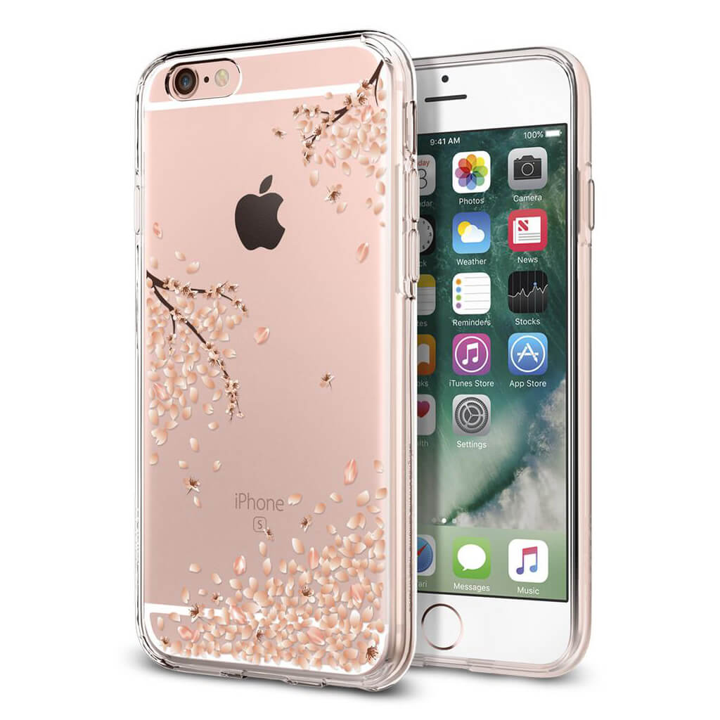 Spigen® Liquid Crystal™ 035CS21219 iPhone 6s/6 Case - Shine Blossom