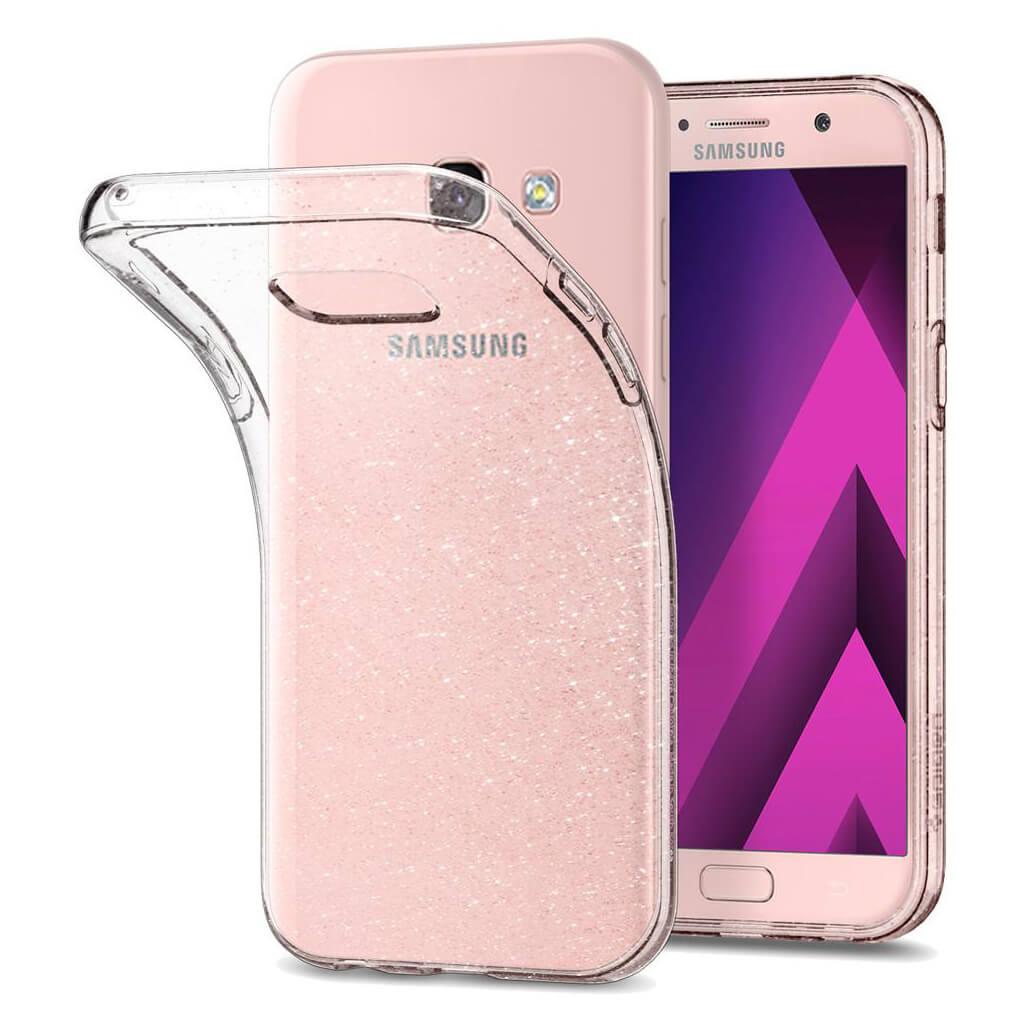 Spigen® Liquid Crystal™ Glitter 573CS21450 Samsung Galaxy A5 (2017) Case - Crystal Quartz
