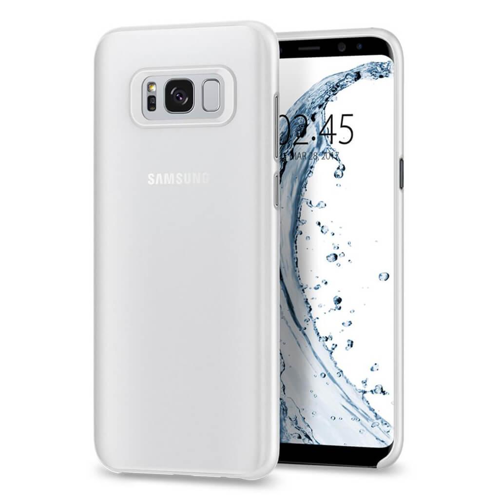 Spigen® AirSkin™ 571CS21679 Samsung Galaxy S8+ Plus Case - Soft Clear