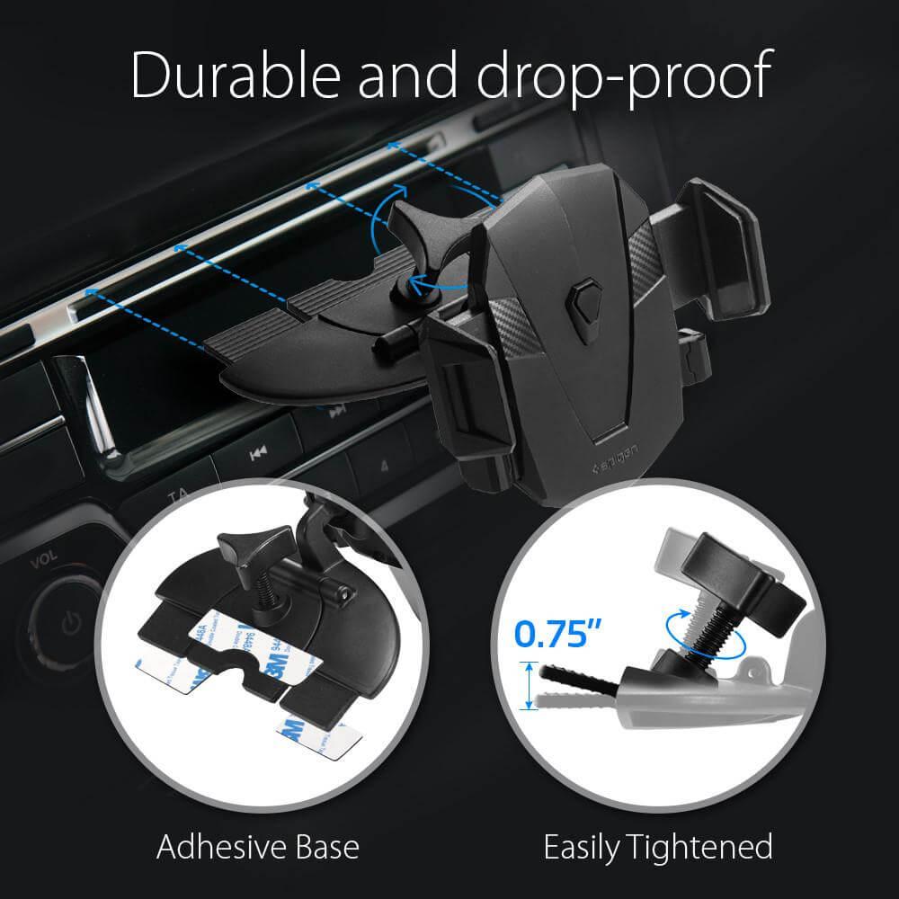 Spigen® Kuel™ AP230T 000CG21160 CD Slot Car Mount