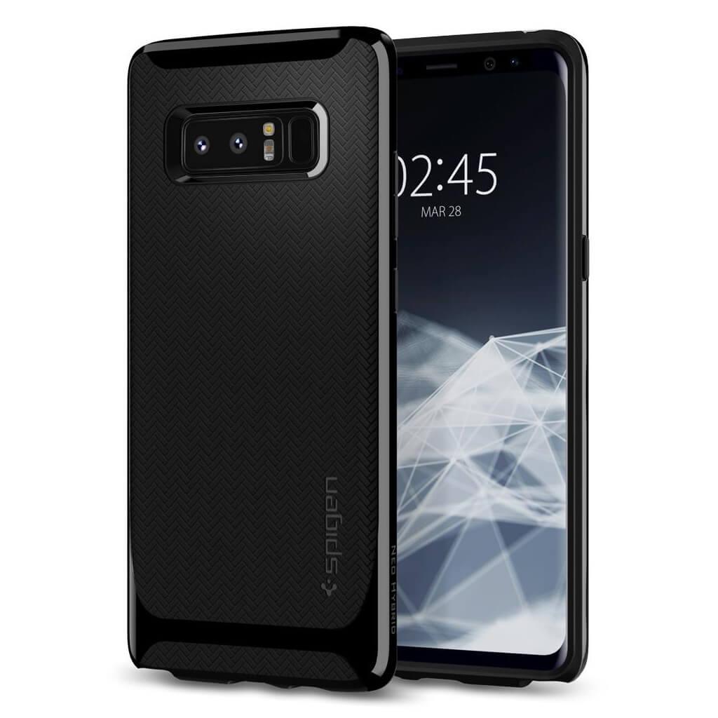 Spigen® Neo Hybrid™ 587CS22085 Samsung Galaxy Note 8 Case - Shiny Black