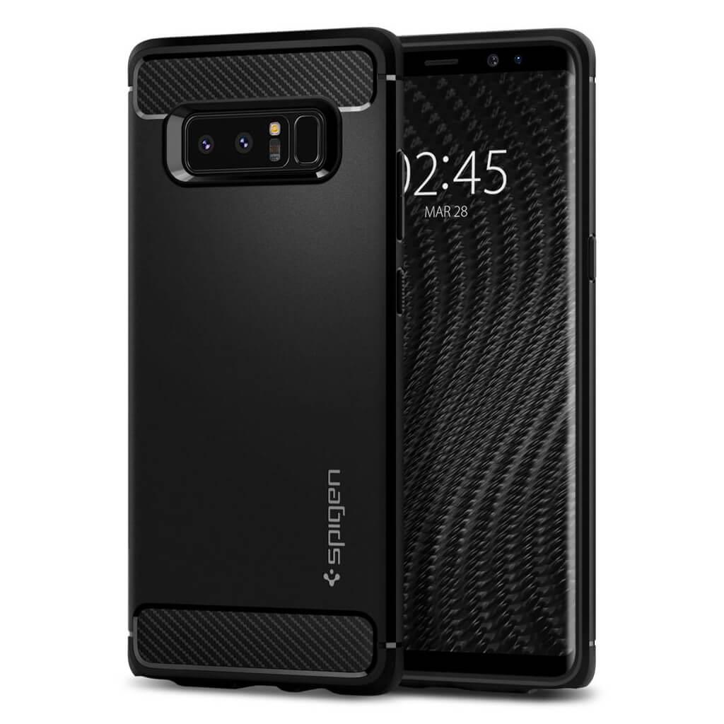 Spigen® Rugged Armor™ 587CS22061 Samsung Galaxy Note 8 Case - Black