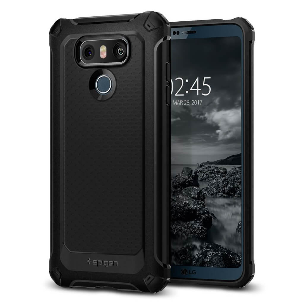 Spigen® Rugged Armor Extra™ A21CS21363 LG G6 Case - Black