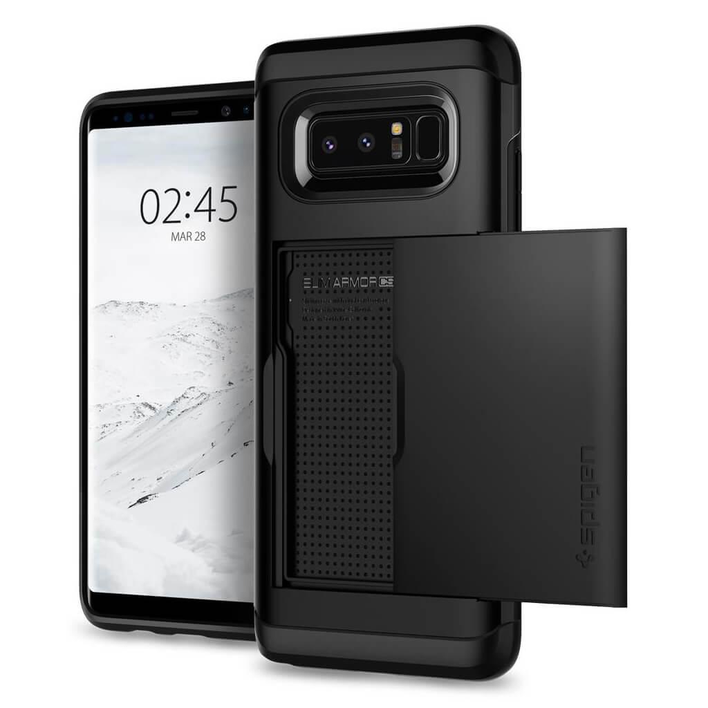 Spigen® Slim Armor CS™ 587CS22070 Samsung Galaxy Note 8 Case - Black