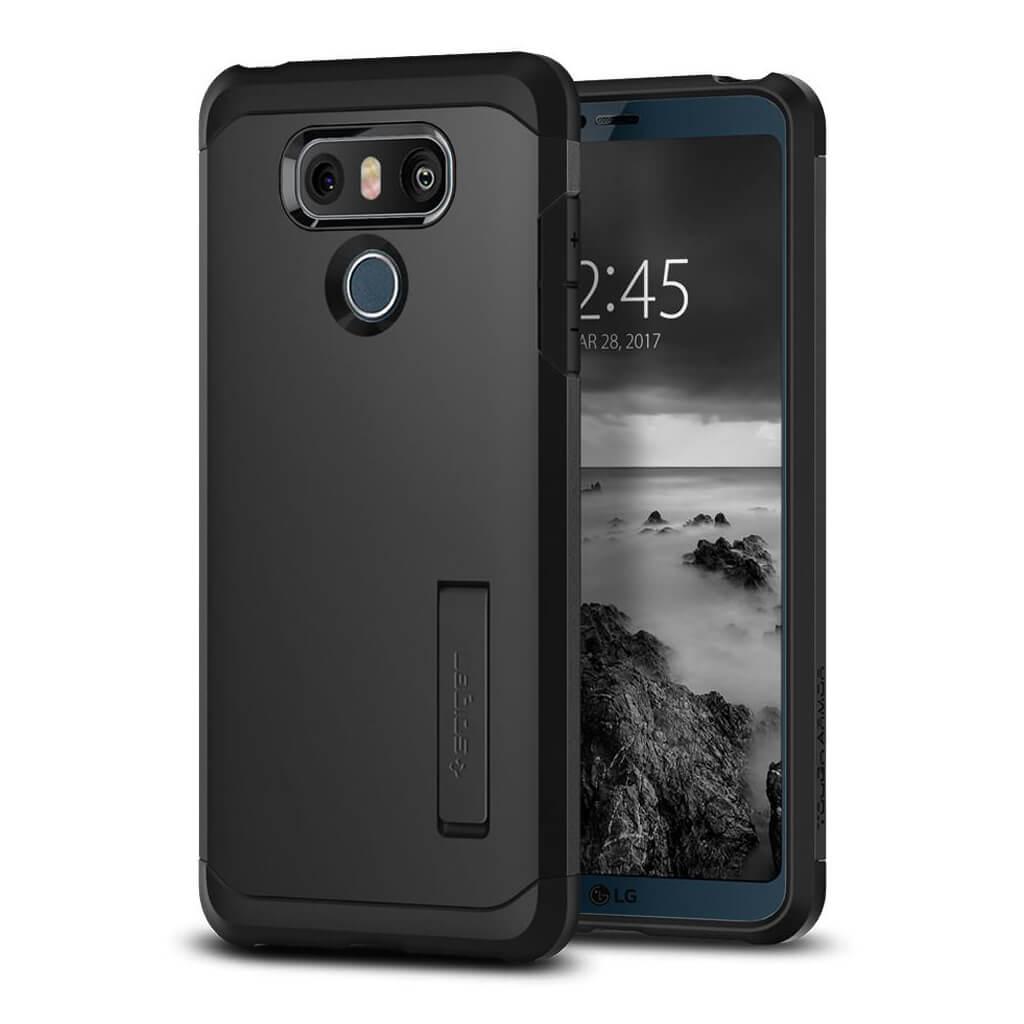 Spigen® Tough Armor™ A21CS21235 LG G6 Case - Black