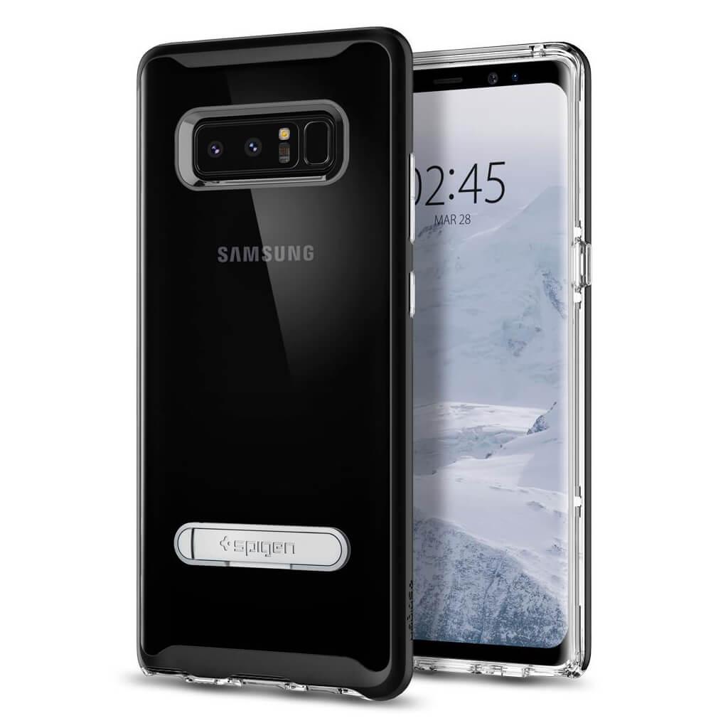 Spigen® Crystal Hybrid™ 587CS21842 Samsung Galaxy Note 8 Case - Black