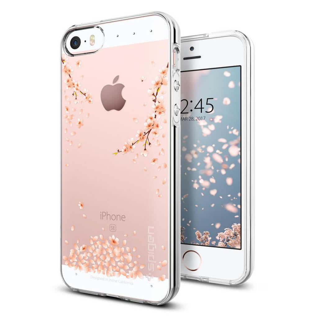 Spigen® Liquid Air Armor™ 041CS21960 iPhone SE/5s/5 Case - Shine Blossom
