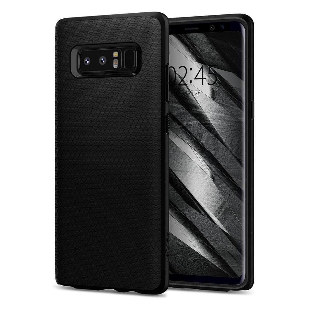 Spigen® Liquid Air Armor™ 587CS22060 Samsung Galaxy Note 8 Case - Black