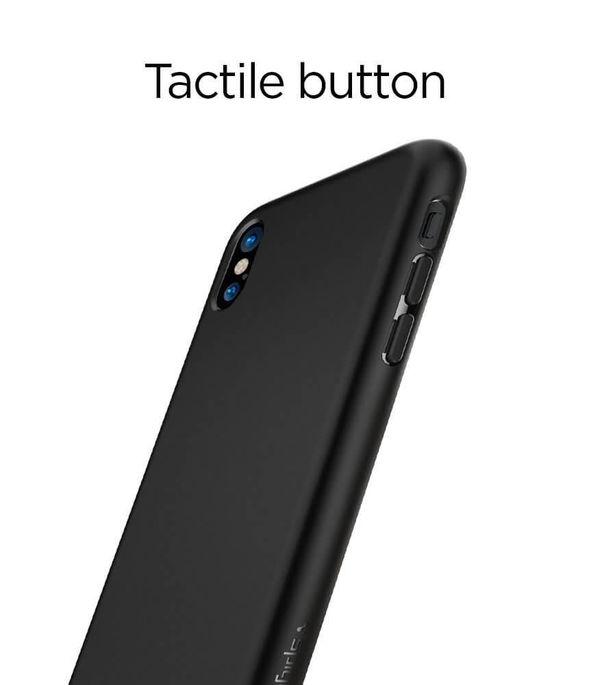 Spigen® Liquid Crystal™ 057CS22119 iPhone X Case - Matte Black