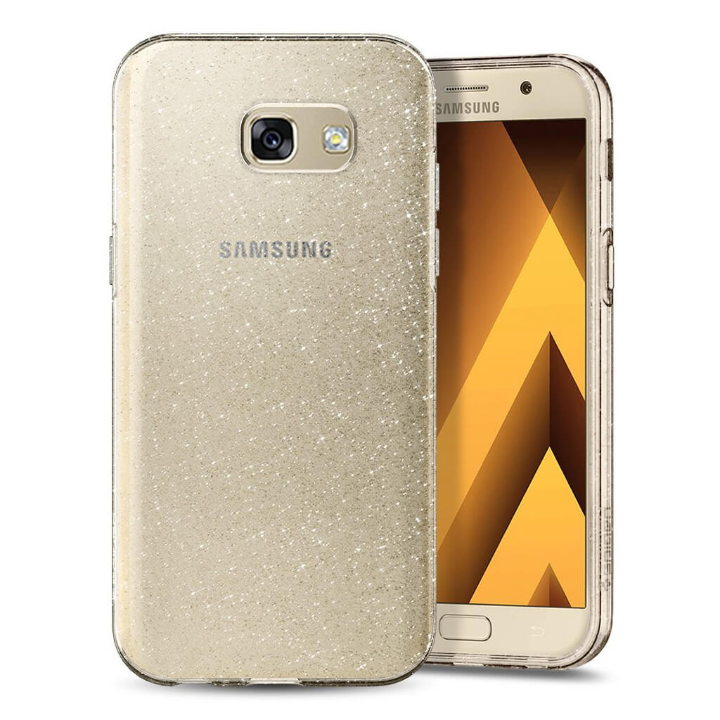 Spigen® Liquid Crystal Glitter™ 572CS21449 Samsung Galaxy A3 (2017) Case - Crystal Quartz