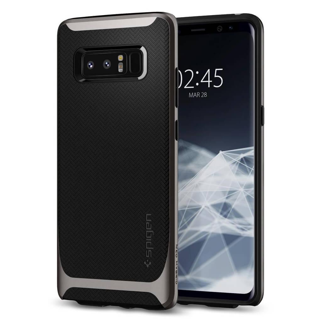 Spigen® Neo Hybrid™ 587CS22084 Samsung Galaxy Note 8 Case - Gunmetal