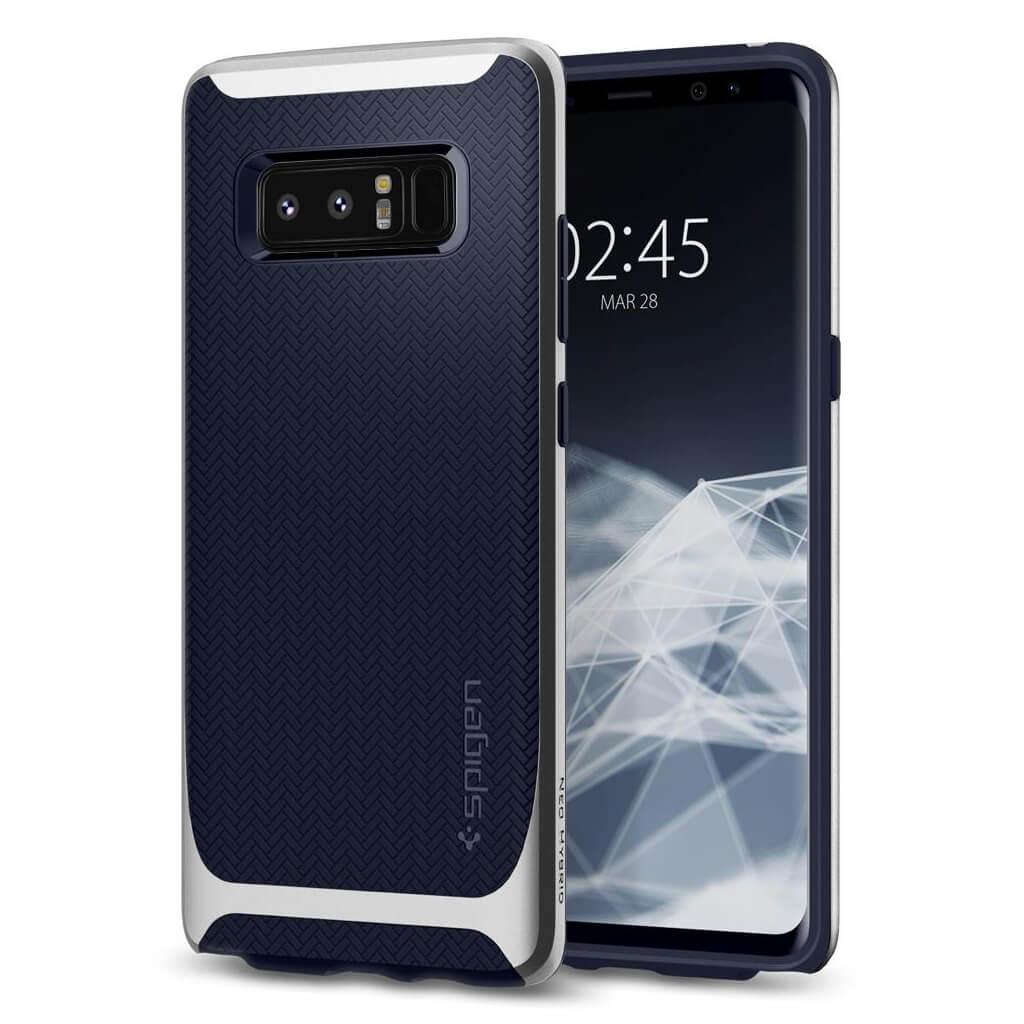 Spigen® Neo Hybrid™ 587CS22086 Samsung Galaxy Note 8 Case - Arctic Silver