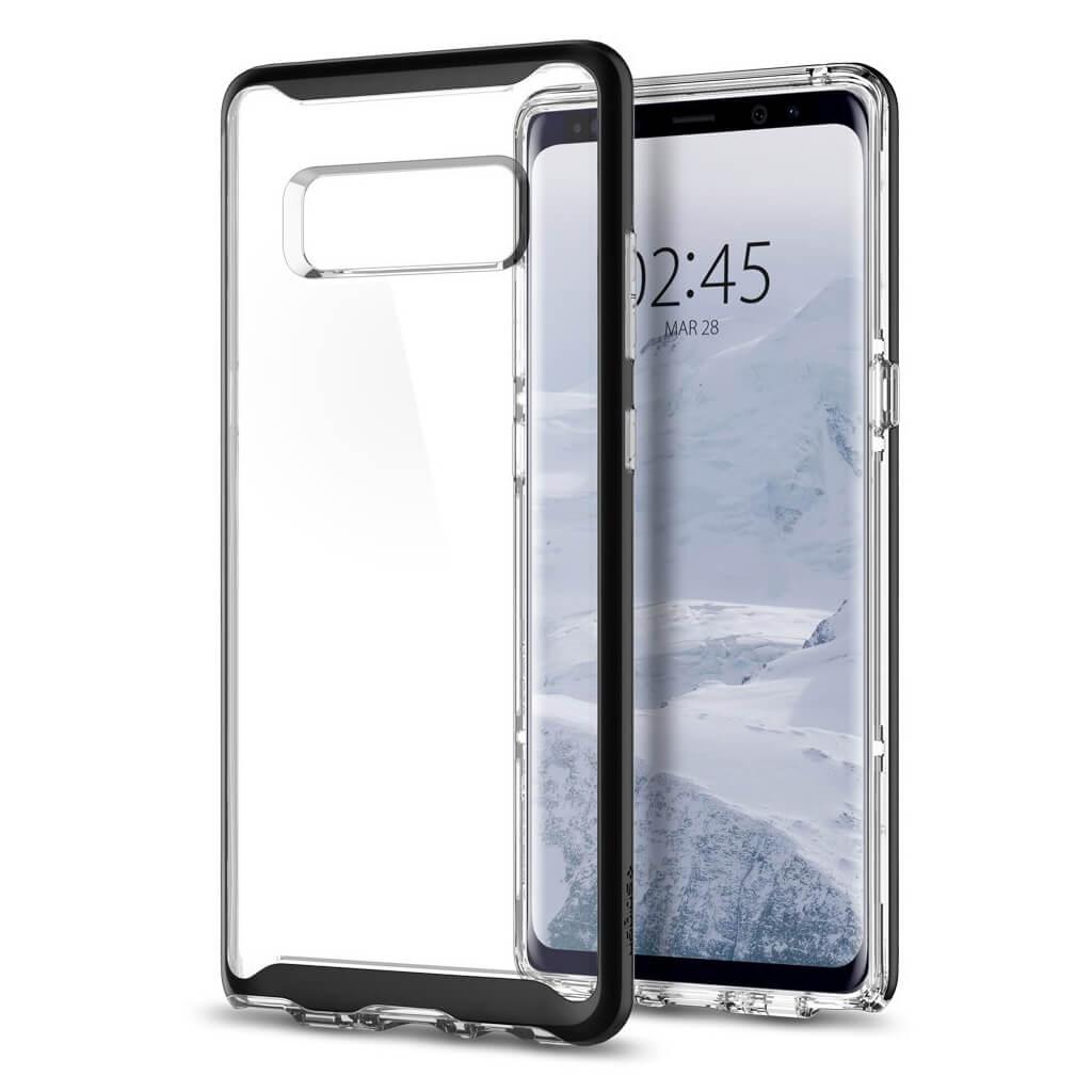 Spigen® Neo Hybrid Crystal™ 587CS22091 Samsung Galaxy Note 8 Case - Black