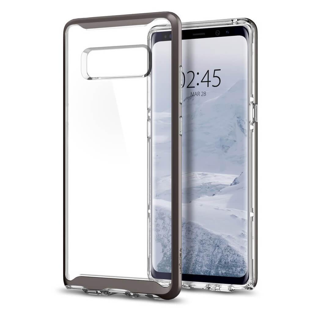 Spigen® Neo Hybrid Crystal™ 587CS22092 Samsung Galaxy Note 8 Case - Gunmetal