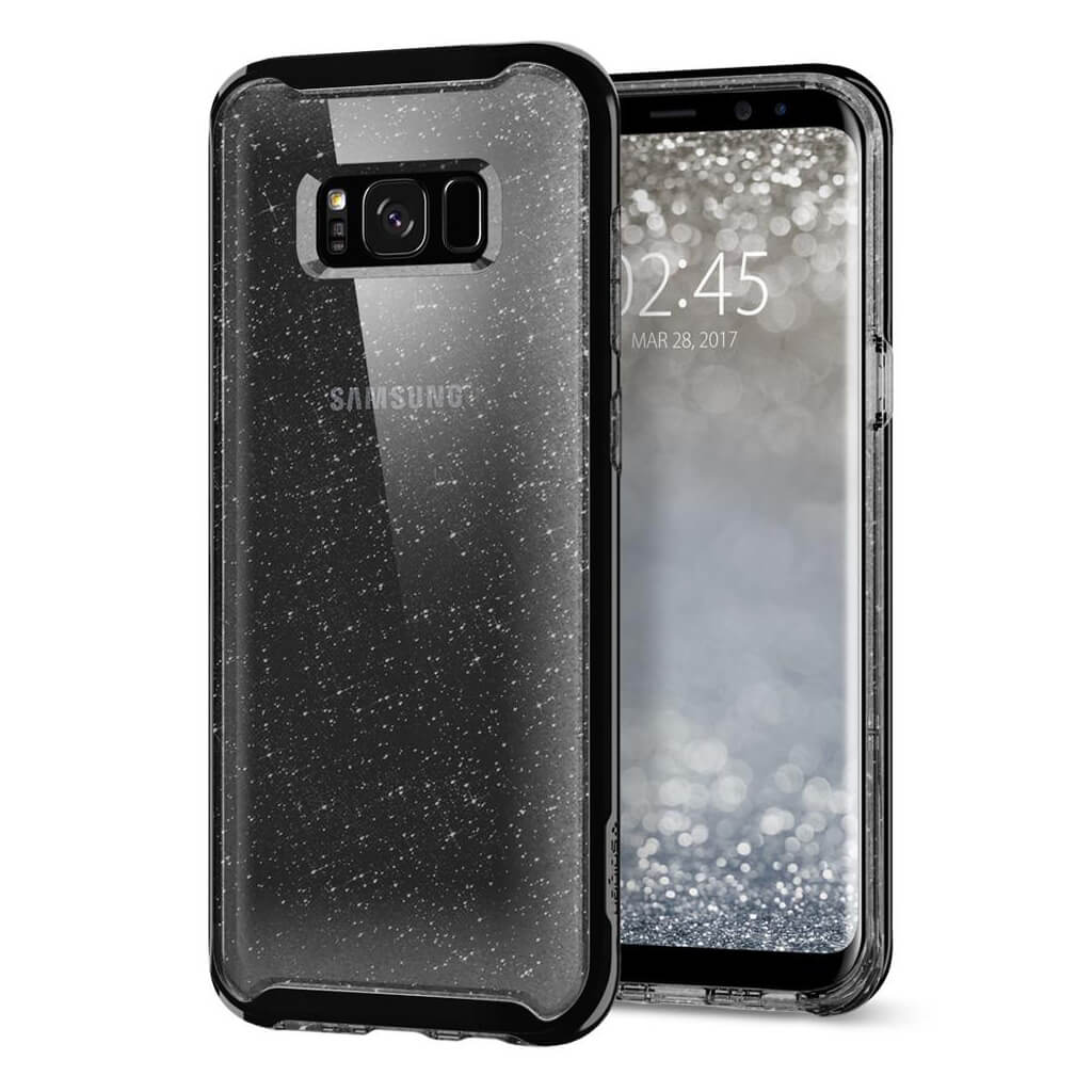 Spigen® Neo Hybrid Crystal Glitter™ 565CS21608 Samsung Galaxy S8 Case - Space Quartz
