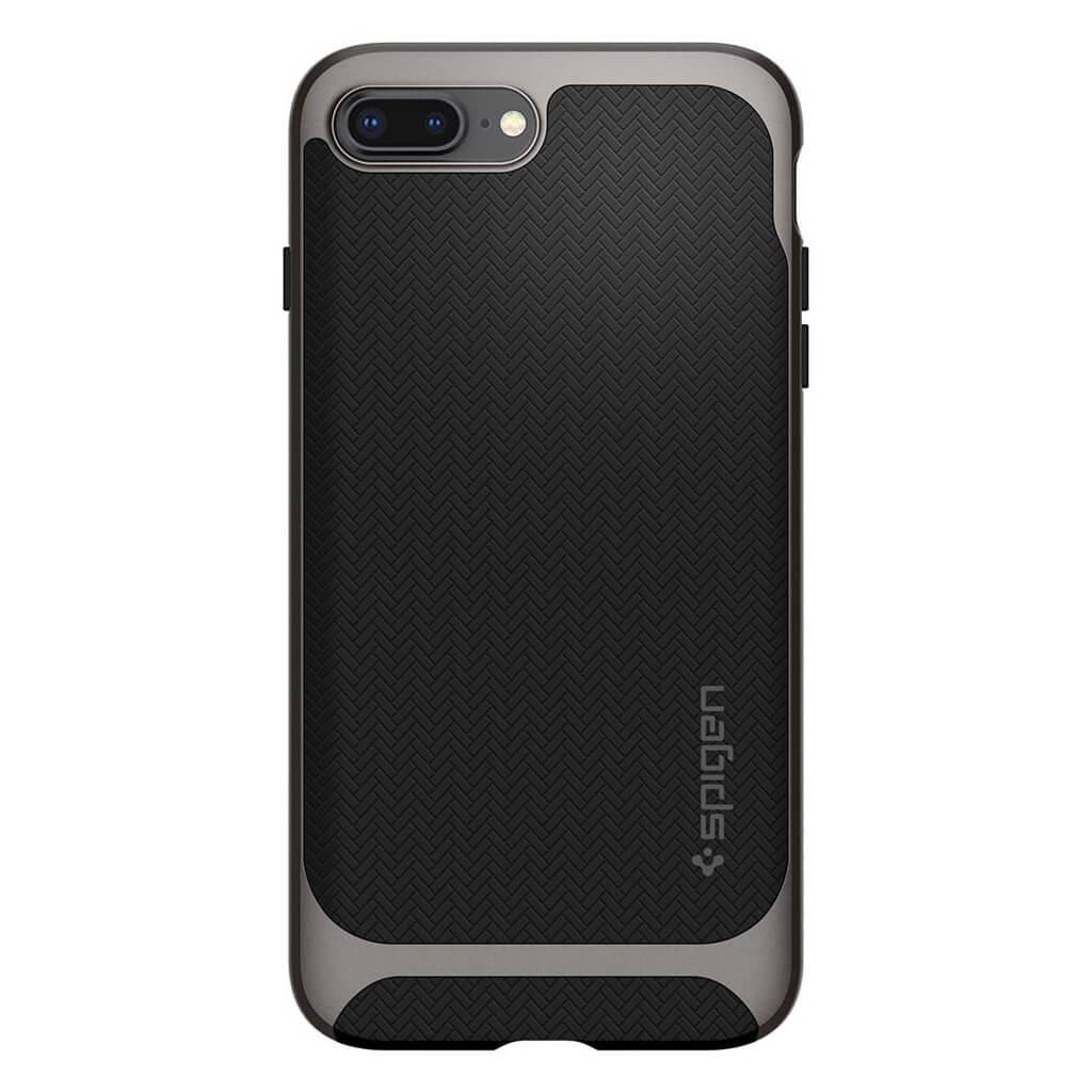 Spigen® Neo Hybrid™ Herringbone™ 055CS22227 iPhone 8 Plus / 7 Plus Case - Gunmetal