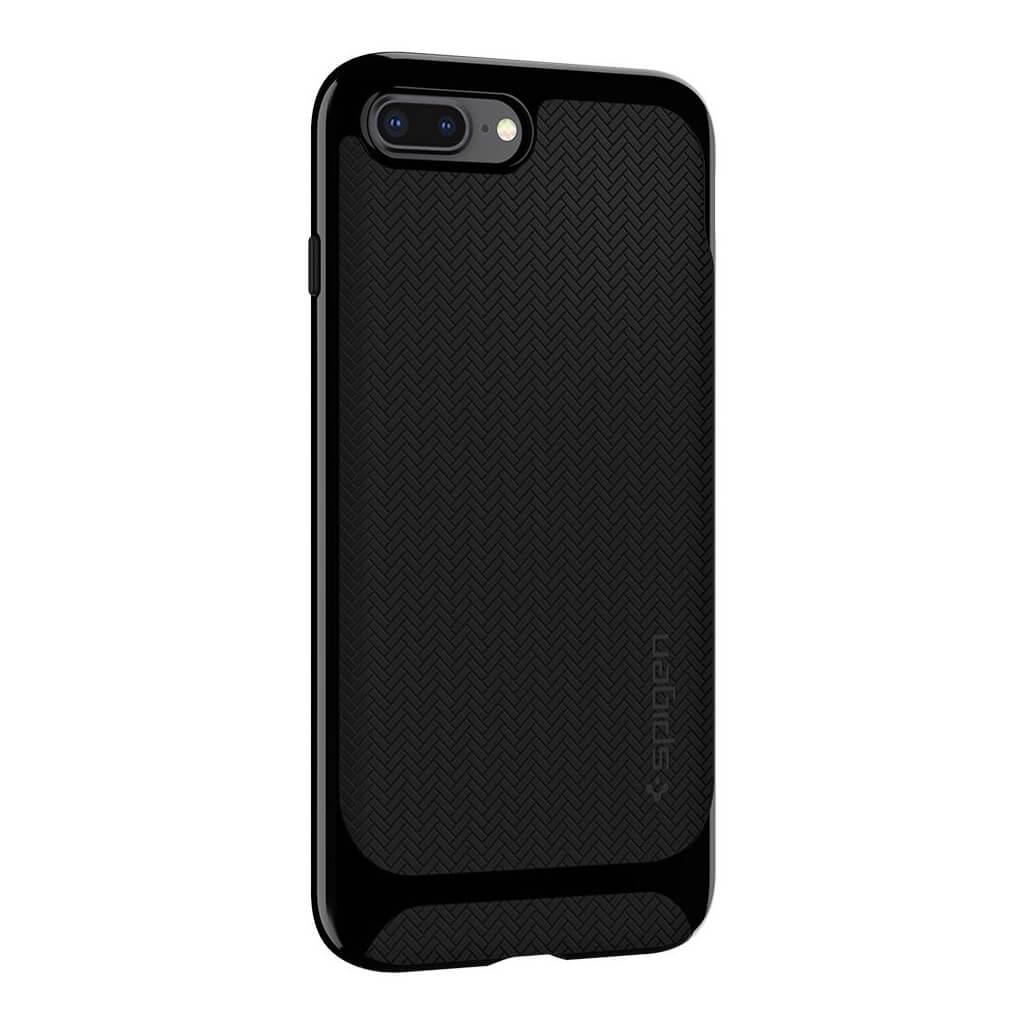Spigen® Neo Hybrid™ Herringbone™ 055CS22230 iPhone 8 Plus / 7 Plus Case - Shiny Black