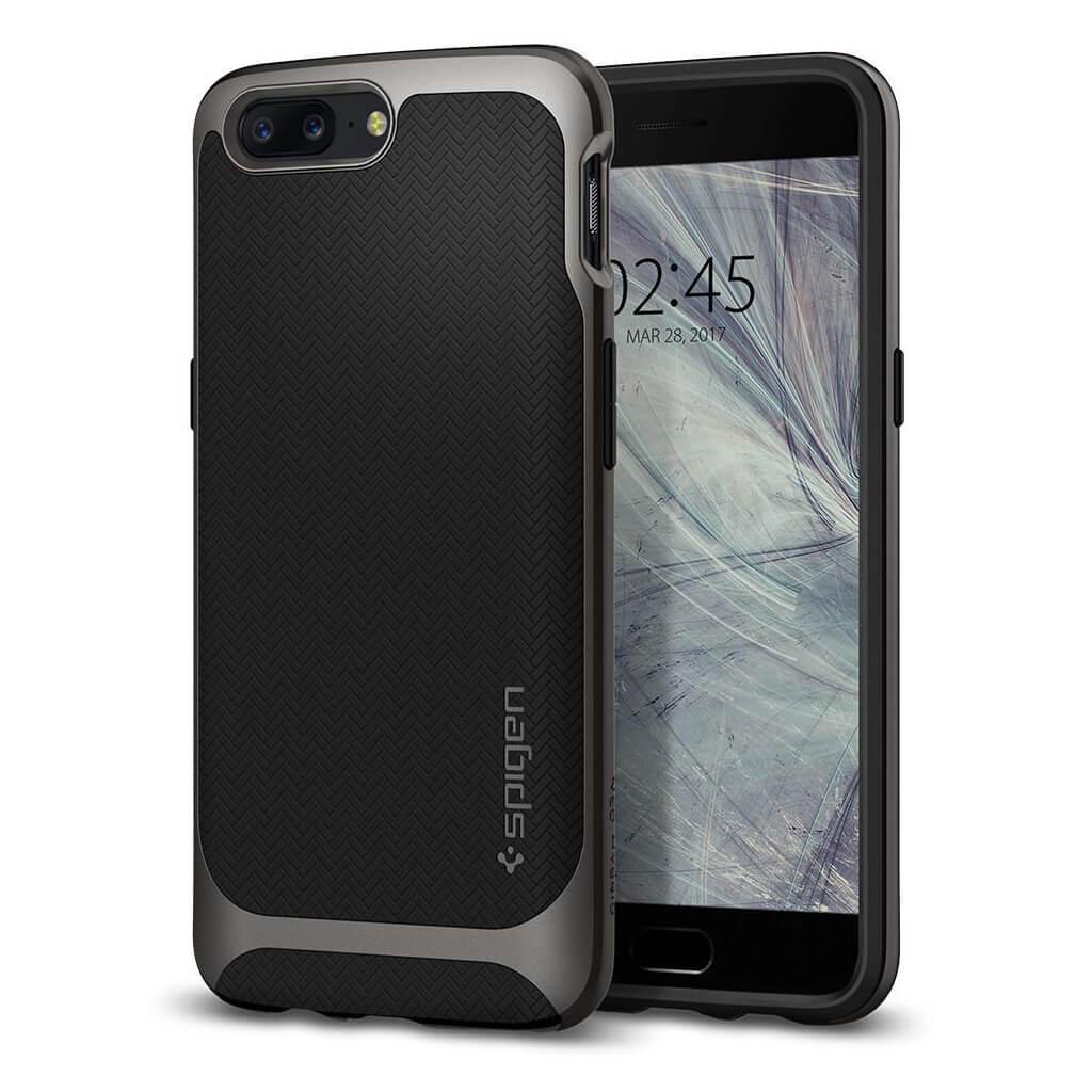 Spigen® Neo Hybrid™ K04CS21515 OnePlus 5 Case - Gunmetal