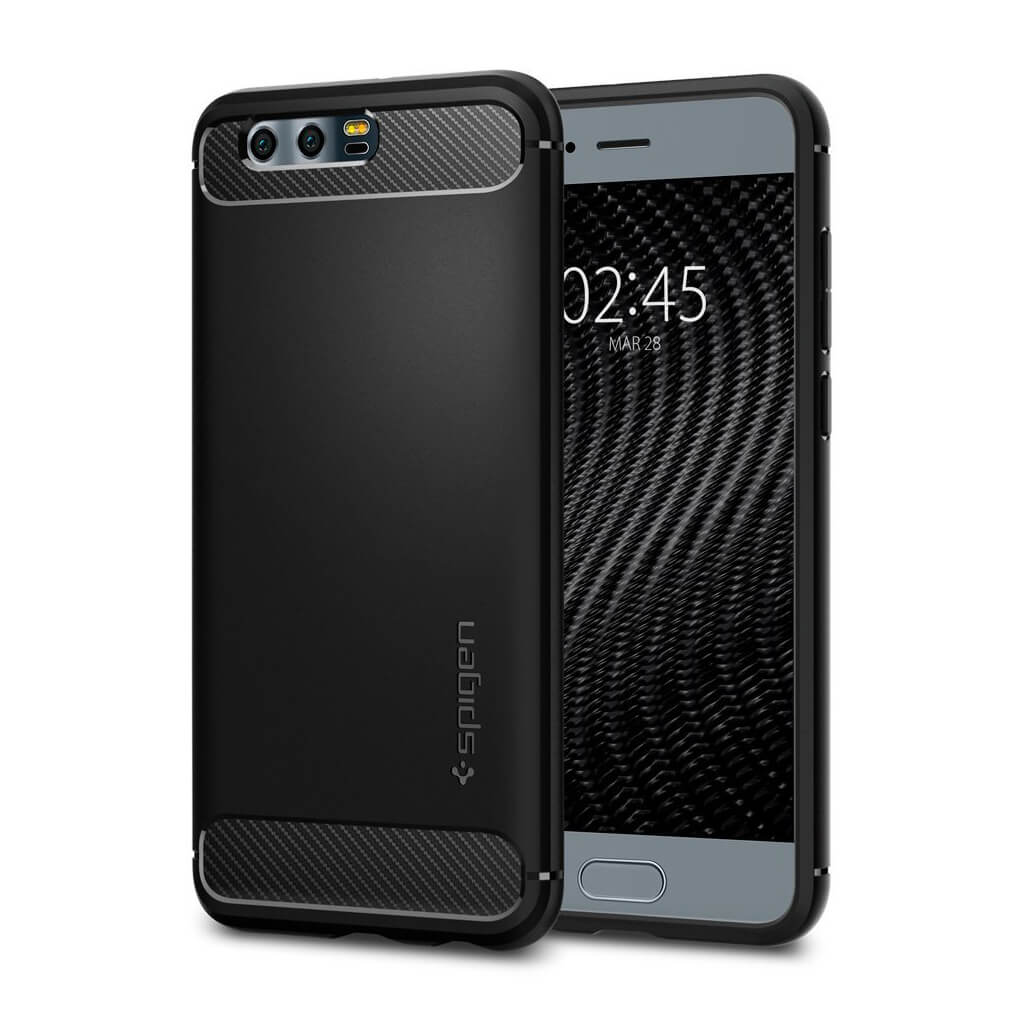 Spigen® Rugged Armor™ L17CS21992 Huawei Honor 9 Case - Black