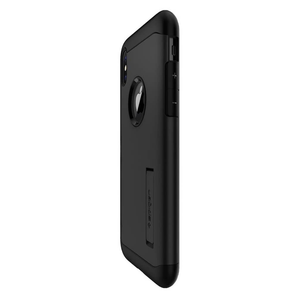 Spigen® Slim Armor™ 057CS22138 iPhone X Case - Black