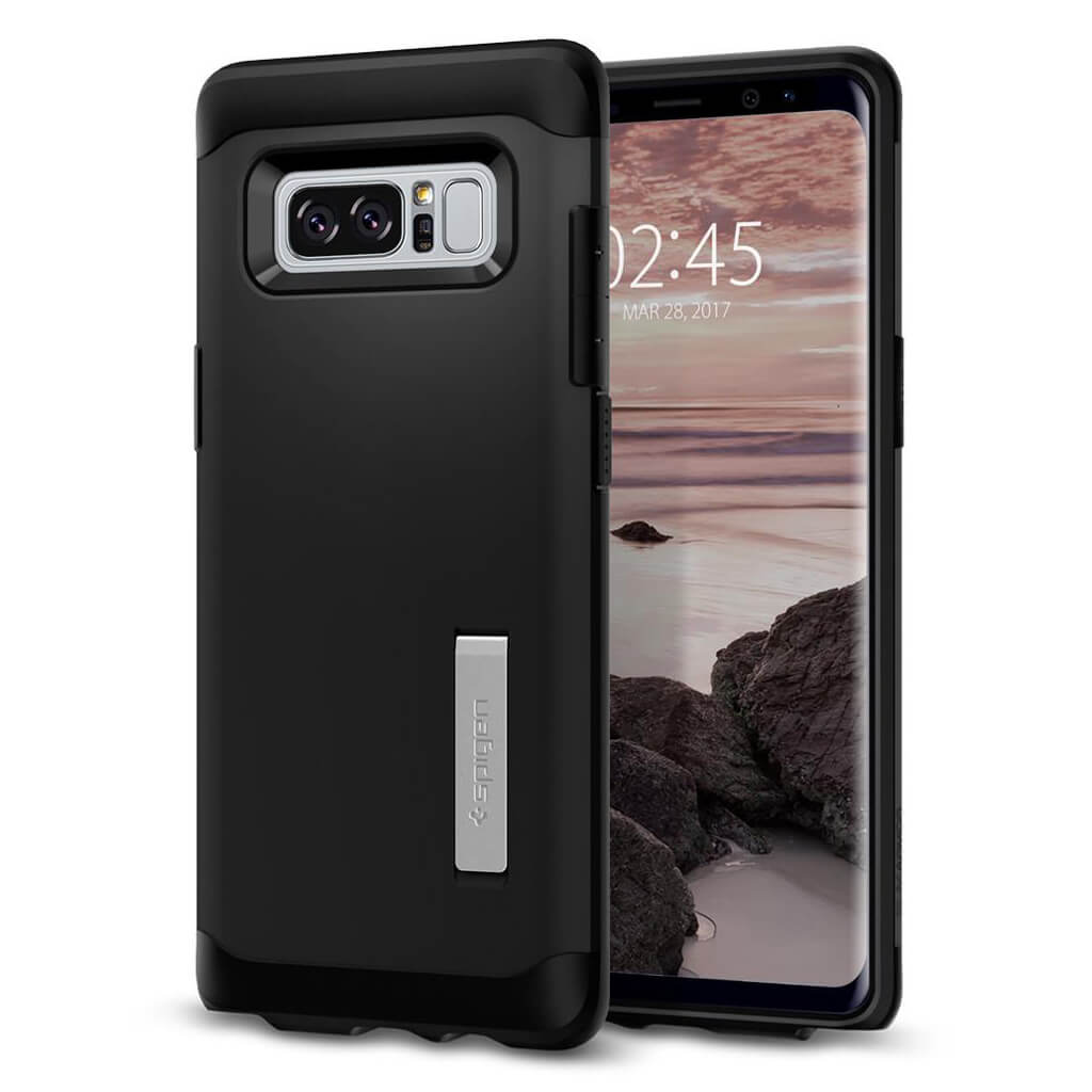 Spigen® Slim Armor™ 587CS21835 Samsung Galaxy Note 8 Case - Black