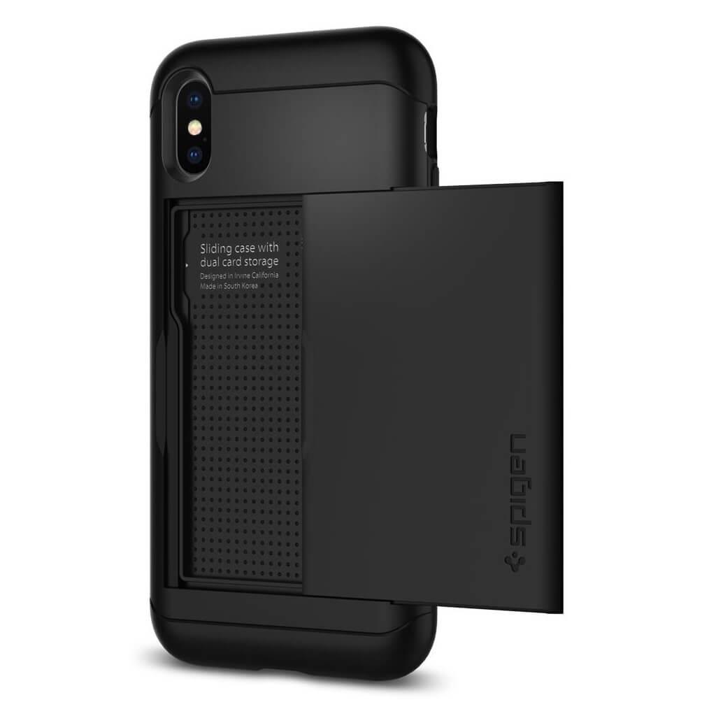 Spigen® Slim Armor CS™ 057CS22155 iPhone X Case - Black