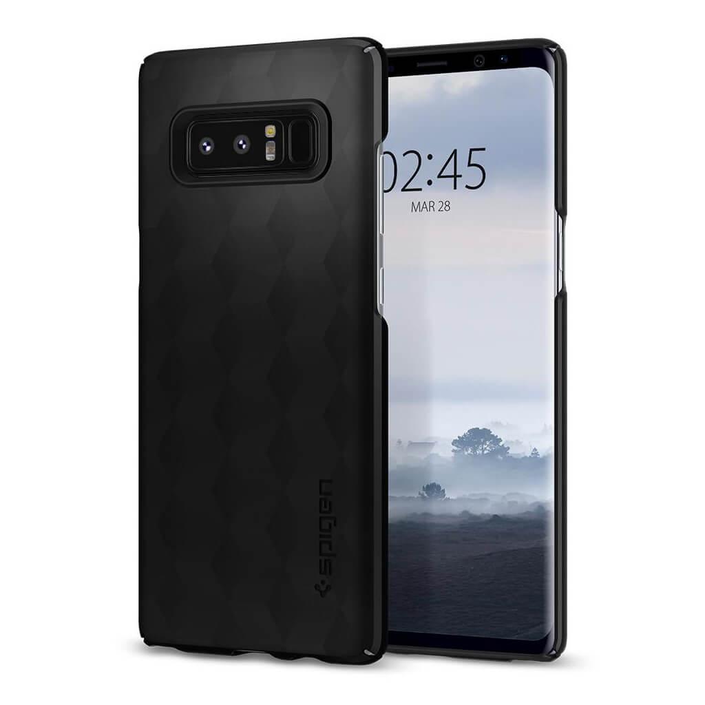 Spigen® Thin Fit™ 587CS22051 Samsung Galaxy Note 8 Case - Matte Black