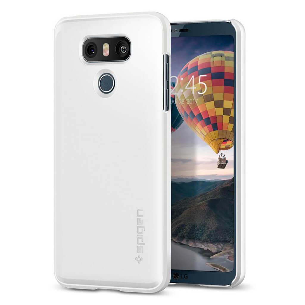 Spigen® Thin Fit™ A21CS21232 LG G6 Case - Shimmery White
