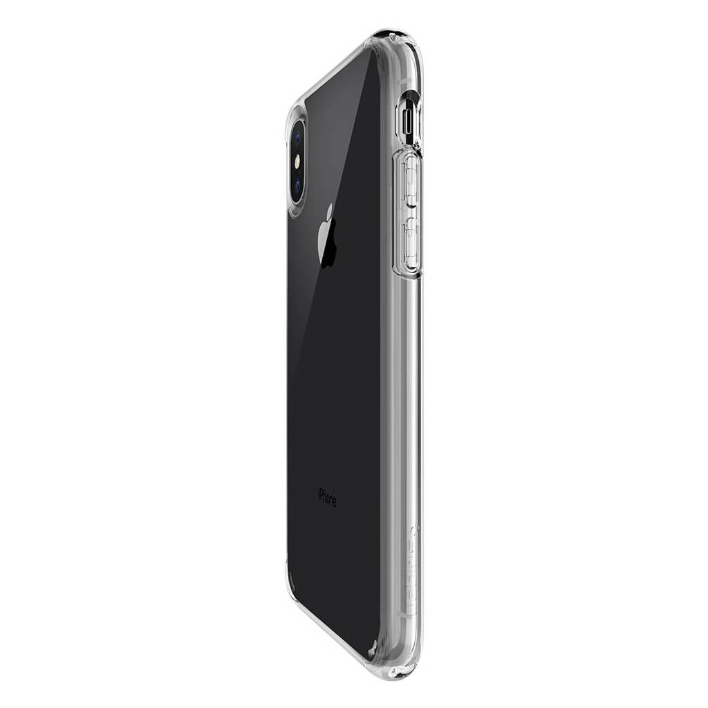 Spigen® Ultra Hybrid™ 057CS22127 iPhone X Case - Crystal Clear