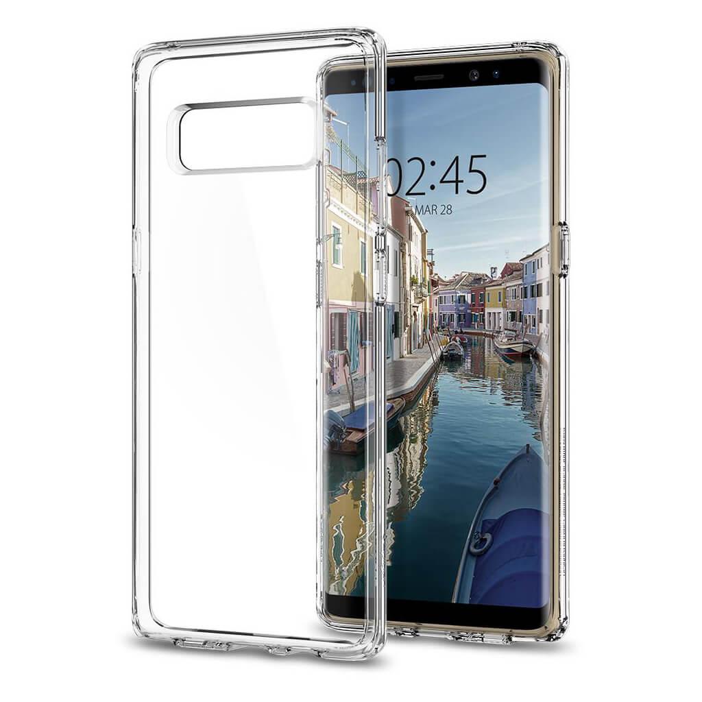 Spigen® Ultra Hybrid™ 587CS22063 Samsung Galaxy Note 8 Case - Crystal Clear