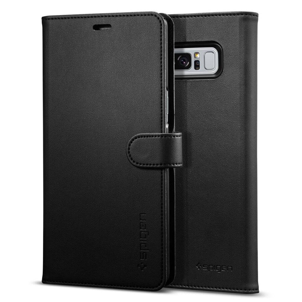 Spigen® Wallet S™ 587CS22095 Samsung Galaxy Note 8 Case - Black