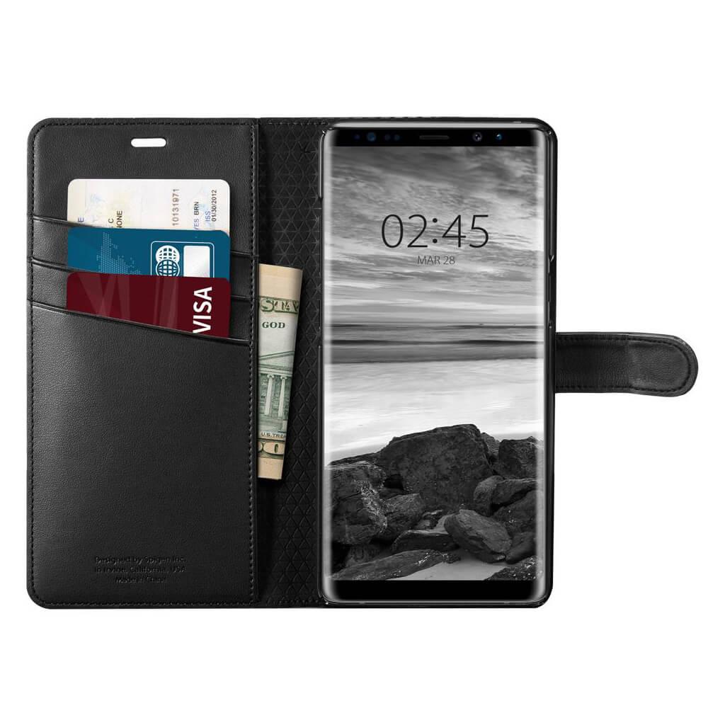 Spigen 174 Wallet S 587cs22095 Samsung Galaxy Note 8 Case