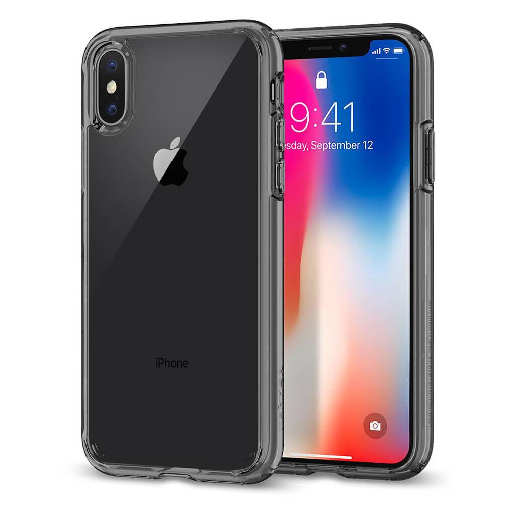 Spigen® Ultra Hybrid™ 057CS22131 iPhone X Case - Space Crystal