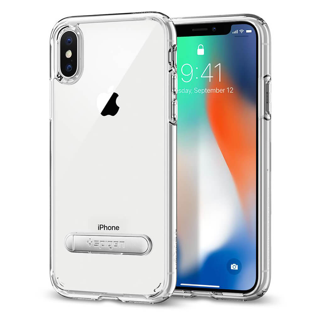 Spigen® Ultra Hybrid S™ 057CS22133 iPhone X Case - Crystal Clear