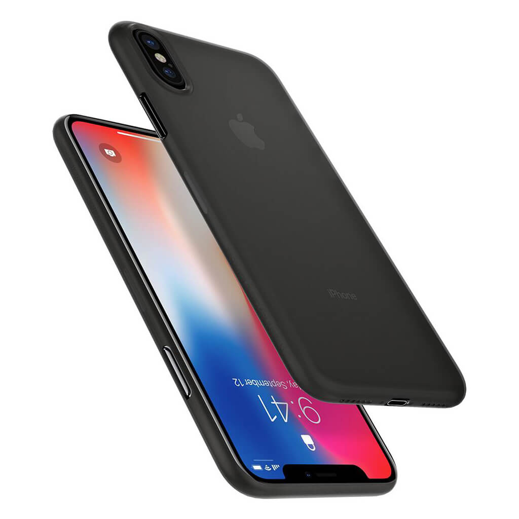 Spigen 174 Airskin 057cs22114 Iphone Xs X Case Black