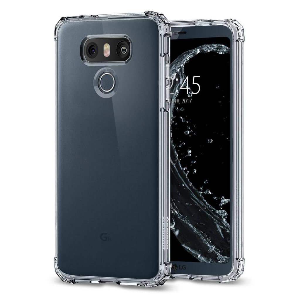 Spigen® Crystal Shell™ A21CS21241 LG G6 Case - Crystal Clear