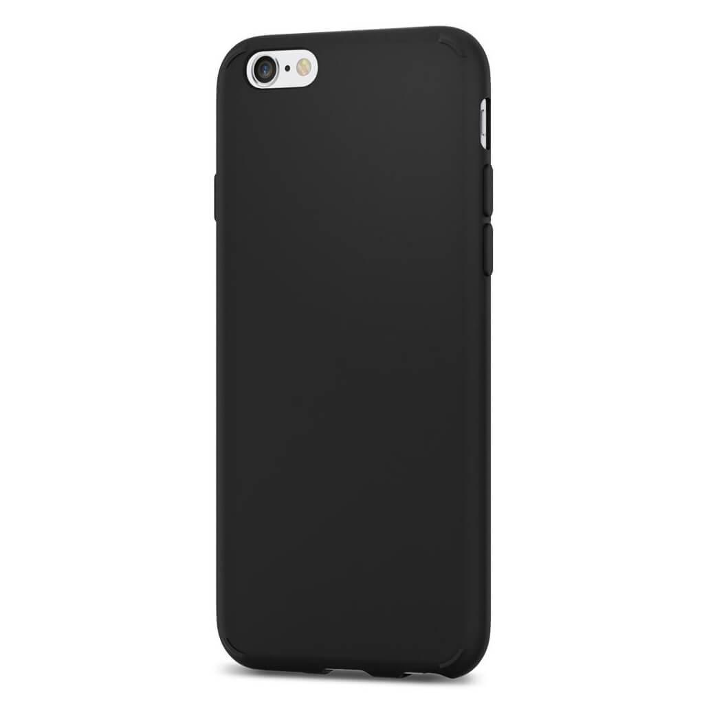 Spigen® Liquid Crystal™ 035CS21532 iPhone 6 / 6s Case - Matte Black