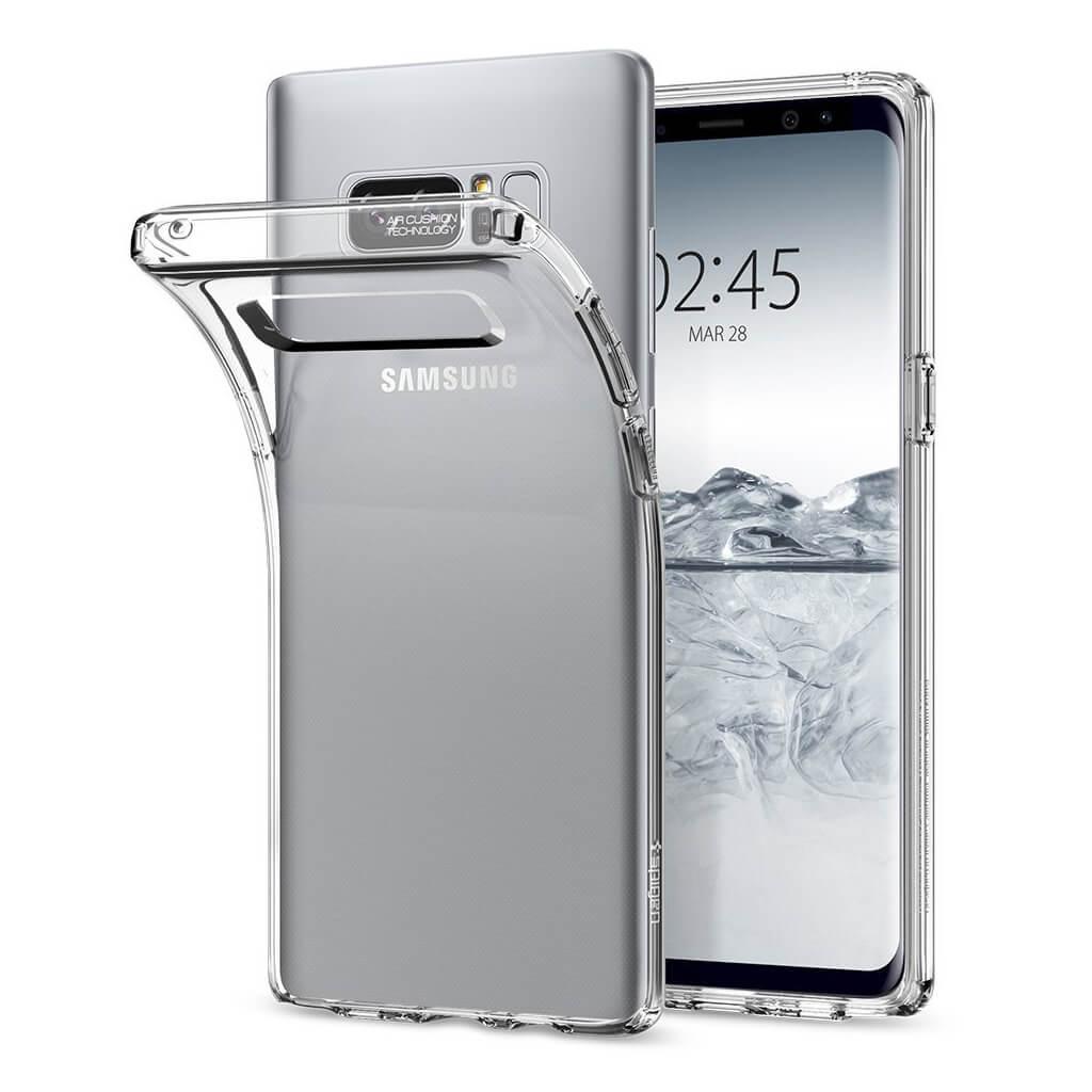 Spigen® Liquid Crystal™ 587CS22056 Samsung Galaxy Note 8 Case - Crystal Clear