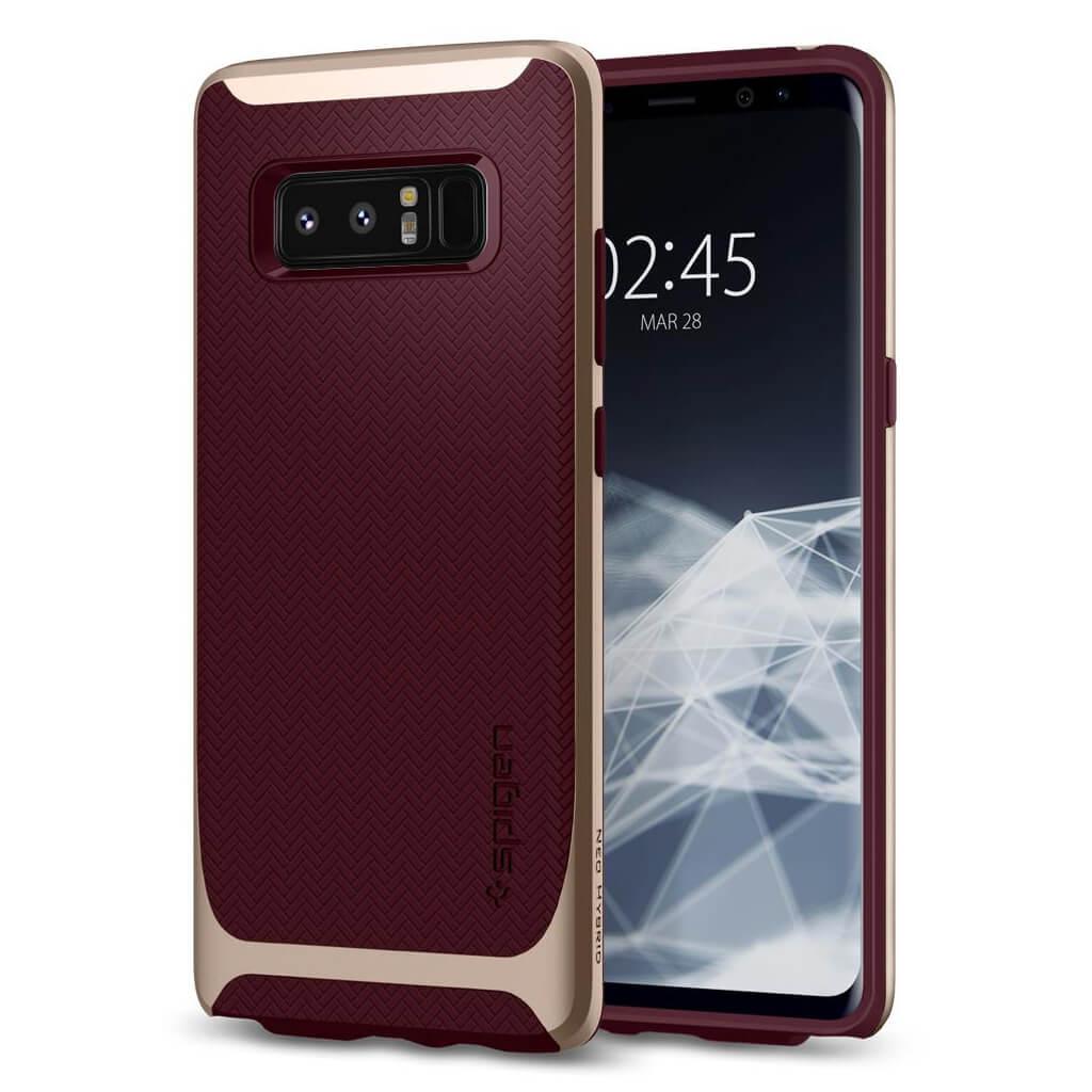 Spigen® Neo Hybrid™ 587CS22087 Samsung Galaxy Note 8 Case - Burgundy